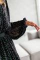 Платье KRASA 240-21 черный_в_цветы