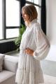 Платье KRASA 240-21 белый_в_цветы