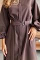 Платье KRASA 238-21 шоколад