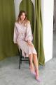 Платье KRASA 238-21 пудрово-розовый