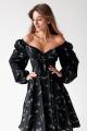 Платье KRASA 244-21 черный
