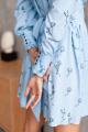 Платье KRASA 273-21 голубой
