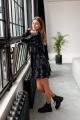 Платье KRASA 273-21 черный