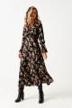 Платье ELLETTO LIFE 1850 черный