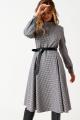 Платье ELLETTO LIFE 1852 серый