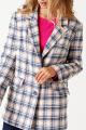 Жакет ELLETTO LIFE 3511 серо-розовый