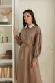 Платье LadisLine 1377 кофе