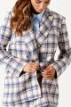 Женский костюм ELLETTO LIFE 5153 серо-розовый