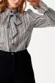 Блуза ELLETTO LIFE 3513 черно-белый