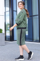 Женский костюм Мода Юрс 2657 зеленый