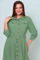 Платье Асолия 2539/1 олива