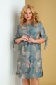 Платье Tensi 312 бирюзовый