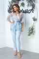 Блуза Anastasia 549/1 голубой