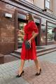 Платье Pavlova 118 красный