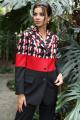 Женский костюм Мода Юрс 2705 черный+красный
