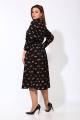Платье Karina deLux М-9909А черный_принт