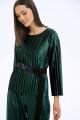 Блуза LaVeLa L50253 зеленый