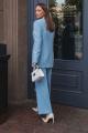 Женский костюм Temper 423 голубой