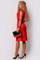 Платье PATRICIA by La Cafe F15116 красный