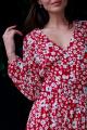 Платье JKY DA-016 красный