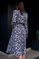 Платье JKY DA-016 синий