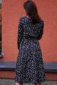 Платье JKY DA-016 черный