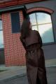 Плащ JKY GA-003 коричневый