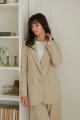 Женский костюм LadisLine 1380 бежевый