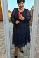 Платье Vittoria Queen 12423/1 темно-синий