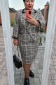 Женский костюм Vittoria Queen 14163 оттенки_песочно-бежевые