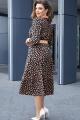 Платье Vittoria Queen 14213 темно-синий_с_персиком