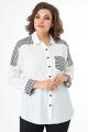 Блуза ELITE MODA 5246 молочный