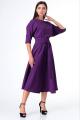 Платье T&N 7073 баклажан