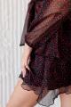 Платье KRASA 224-21 черный_в_красные_цветы