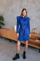 Платье KRASA 228-21 синий