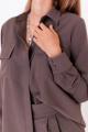 Брюки, Рубашка KRASA 239-21 шоколад