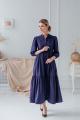 Платье ASV 2445 темно-фиолетовый