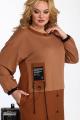 Платье Karina deLux М-9905 корица