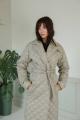 Пальто LadisLine 1374 светло-серый