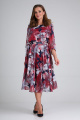 Платье ELGA 01-710 вино