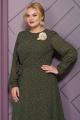 Платье Alani Collection 1505 хаки