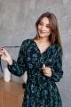 Платье KRASA 275-21 черный_тропик