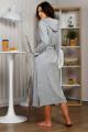 Халат Milla Jo & OWER 011 серый