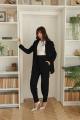 Женский костюм LadisLine 1380 черный
