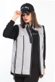 Куртка Lady Secret 065 серый+черный