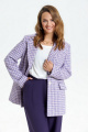 Женский костюм TEZA 2952 лапка_фиолетовый