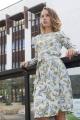 Платье SUNITSA 203 светлая_мята/цветы