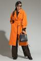 Пальто Магия моды 1991 жёлто-оранжевый