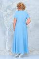 Блуза, Платье Ninele 7333 голубой_василек