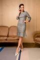 Платье VIZANTI 8023 серый